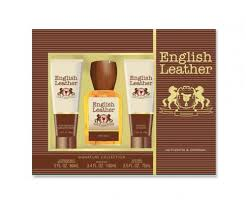 english leather 3 pcs set 3 4 cologne