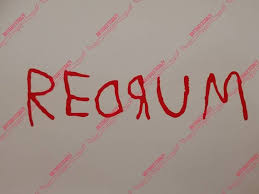 The Shining Redrum Murder Adhesive Vinyl Decal For Etsy