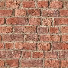 urban red rustic old brick wall