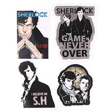 33pcs Pack Sherlock Holmes American Tv Series Stickers Toy Travel Sticker For Luggage Skateboard Laptop Stationery Fridge Decal Assorted Stickers Aliexpress