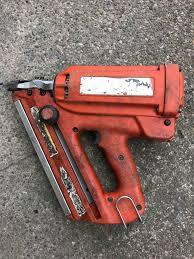 paslode first fix nail gun in