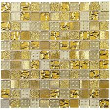 tgemg 02 1x1 square gold glass mosaic