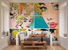 Photo Wallpaper Wall Murals Pop Art Wall Decals Bedroom Decor Murales Disenos De Unas Decoracion De Salas
