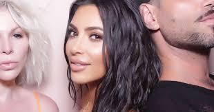 kim kardashian does her perfect contour