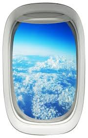 Vwaq Airplane Window Decal Cloud View Peel And Stick Aviation Wall Art Airplanes Contemporary Wall Decals By Vwaq Vinyl Wall Art Quotes And Prints