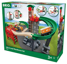 brio lift and load warehouse wooden