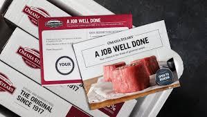 employee milestones omaha steaks