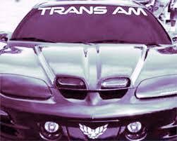 1950 2017 Pontiac Trans Am Vinyl Windshield Body Decal Sticker New Custom 1pc