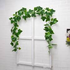 2020 real touch plants garland green