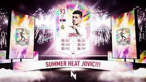 SUMMER HEAT JOVIC DENIES KENT SBC! - FIFA 20 Ultimate Team - YouTube