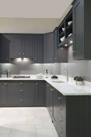 dark grey kitchen cabinets paint colors