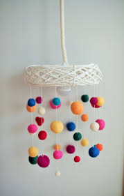 Nursery Hanging Lamp Lampshade Kids Room Pendant Light Etsy