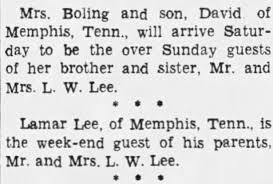 Lawrence Watkins Lee, Lamar Lee, Ellice Myrtle Ryan Lee - Newspapers.com