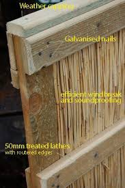 Reed Fence Panel Bamboo Fence Backyard Fences Bamboo Privacy
