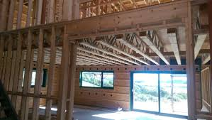 wooden panel house building timber
