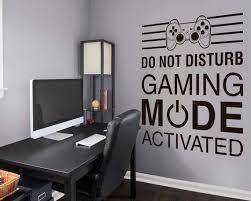 Gamer Wall Decor Gaming Mode Wall Decal Gamer Decor Gaming Etsy