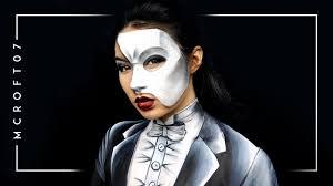 phantom of the opera makeup tutorial