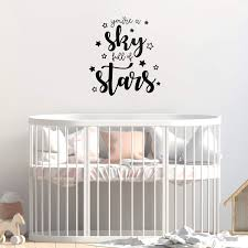 Amazon Com Vinyl Art Wall Decal You Re A Sky Full Of Stars 24 X 22 Cute Modern Cursive Kids Home Bedroom Playroom Quote Sweet Charming Toddlers Apartment Nursery Decor