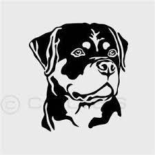 Pin by Effie Wagner on Ink, Ink, baby | Dog stencil, Rottweiler tattoo,  Rottweiler