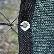 China Knitted Plastic Plain Weaving Fence Shade Cloth With Border Eyelets China Shade Net And Malla Raschel Price