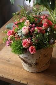 decorating garden pots and planters