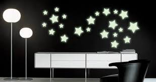 Glow In The Dark Star Wall Decals Dezign With A Z