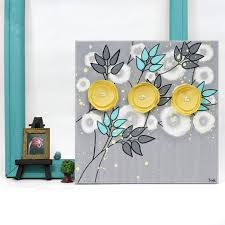 canvas original painting 3d fl
