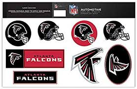 Amazon Com Skinit Atlanta Falcons Decal Packs Officially Licensed By The Nfl 8 Premium 3m Vinyl Stickers Sports Outdoors
