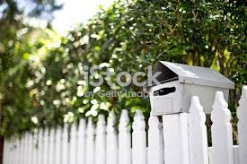 61 Picket Fence And Mailbox Stock Photos Pictures Royalty Free Images Istock