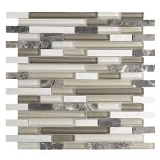 glass dark emperador mosaic tile