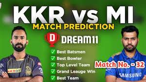 MI VS KKR Dream11 Team Prediction ...