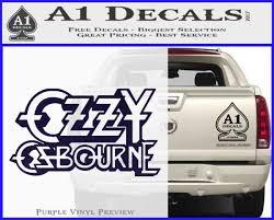 Ozzy Osbourne Decal Sticker A1 Decals
