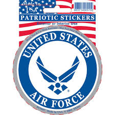 Shop United States Air Force Car Decal Overstock 15885963