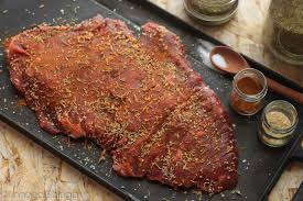 blade steak recipe with curry rosemary