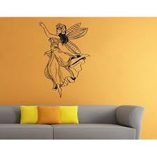 Cooldecals4u Wall Stickers Vinyl Decal Home Decor Fantasy Kids Magic Fairy Dandelion 1rre
