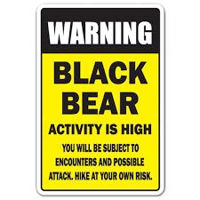 Black Bear Activity High 3 Pack Of Vinyl Decal Stickers Walmart Com Walmart Com