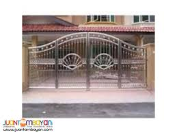Gate Metal Fabrication Steel Gate Steel Fence Iron Works