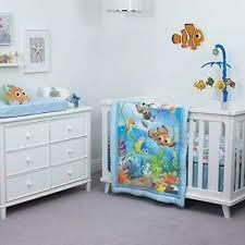 finding nemo wavy days crib bedding set
