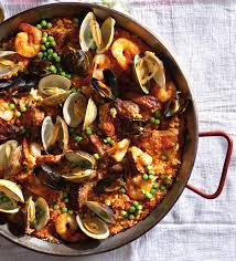 Seafood Paella with Baby Back Riblets ...