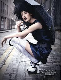 rainy day editorials gothic makeup