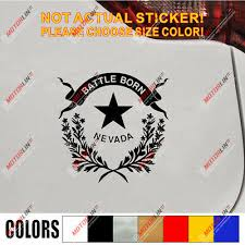 Nevada State Decal Sticker Flag Car Vinyl Pick Size Color Die Cut No Bkgrd Ebay