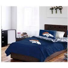 denver broncos full comforter sheets