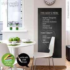 Chalk Board Wall Decal Chalkboard Wall Decal Chalkboard Etsy