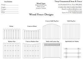 Designs Brick Fence Fence Design Wood Fence Design