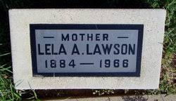 Lela Adeline Ogden Lawson (1884-1966) - Find A Grave Memorial
