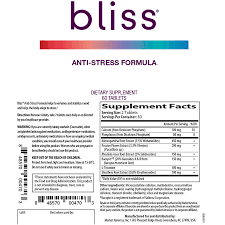 bliss anti stress formula global