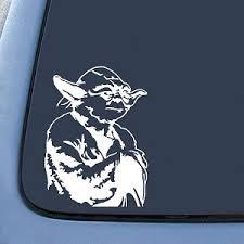 Yoda Jedi Master Sticker Decal Notebook Car Laptop