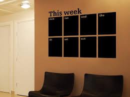 Chalkboard Wall Sticker For Sale Calendar Decals Large Art Weekly B M Frame Australia Growth Chart Vamosrayos