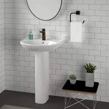 54 pedestal sinks to streamline your