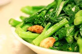 Chinese Greens (Yu Choy) Stir Fry • Steamy Kitchen Recipes Giveaways
